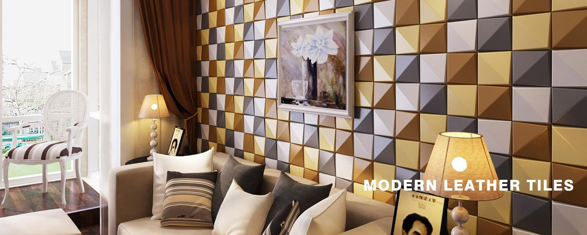 Modern Leather Tiles