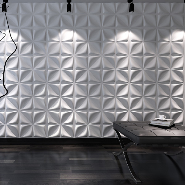 3D Plant Fiber Wall Panels Installation Video