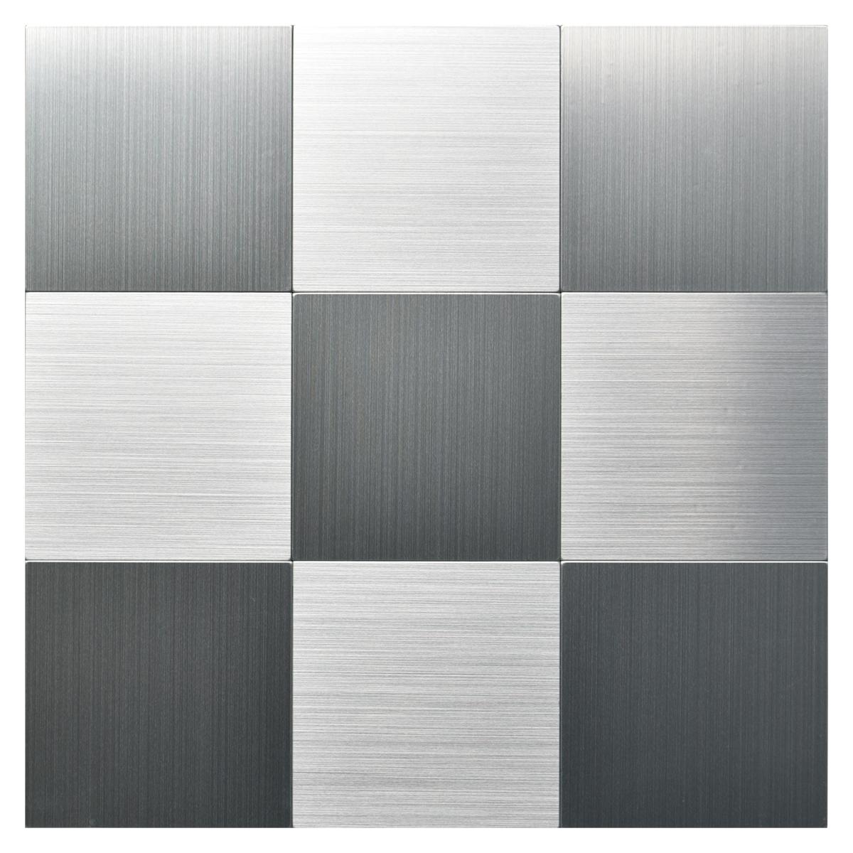 L And Stick Metal Backsplash Tile