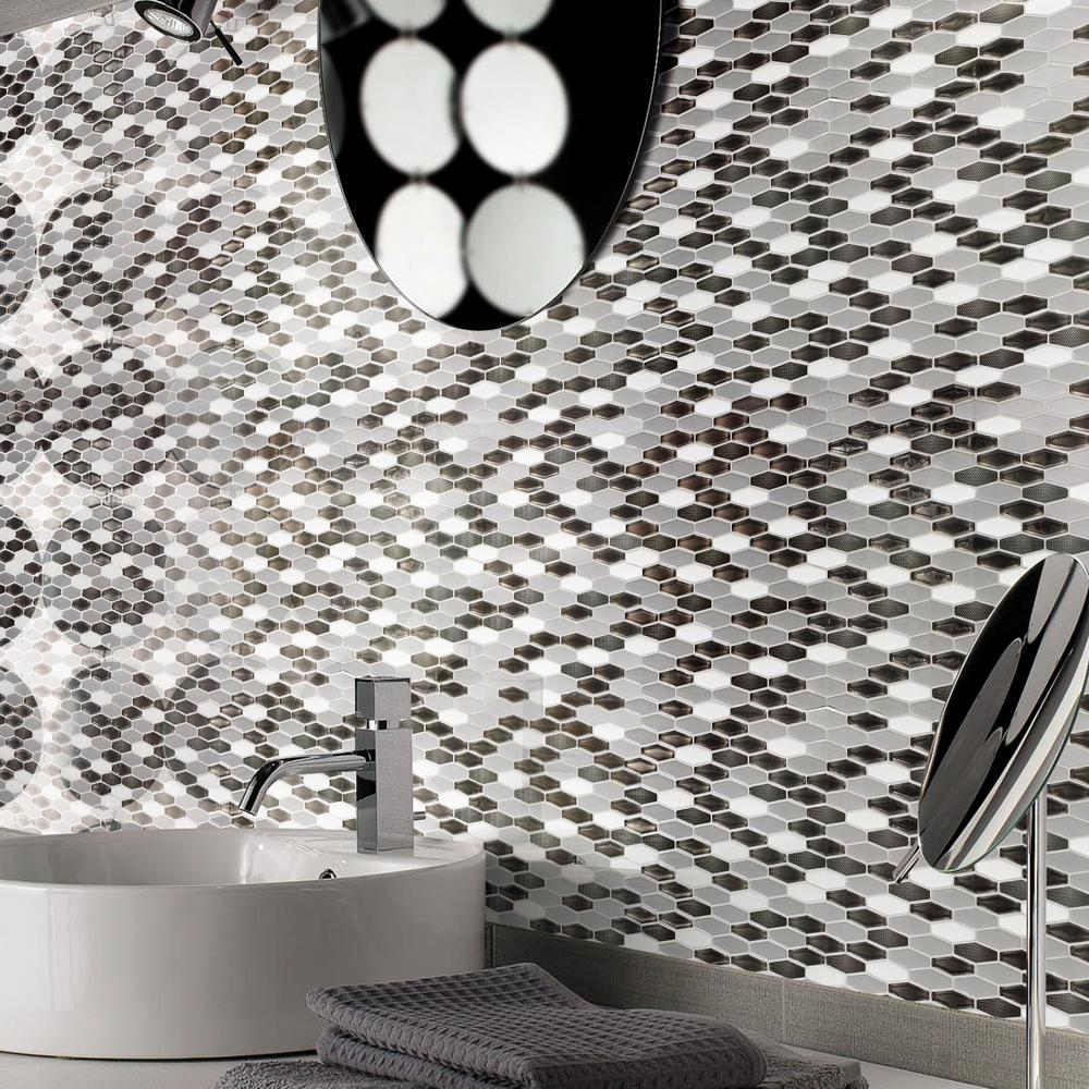 diamond wall tile peel and stick backsplash for kitchen 5 8 sq ft a17017 diamond wall tile peel and stick backsplash