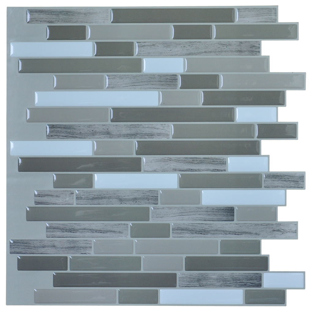 stick backsplash tiles for bathroom and kitchen wall 6 stick backsplash tiles for bathroom and kitchen wall 6