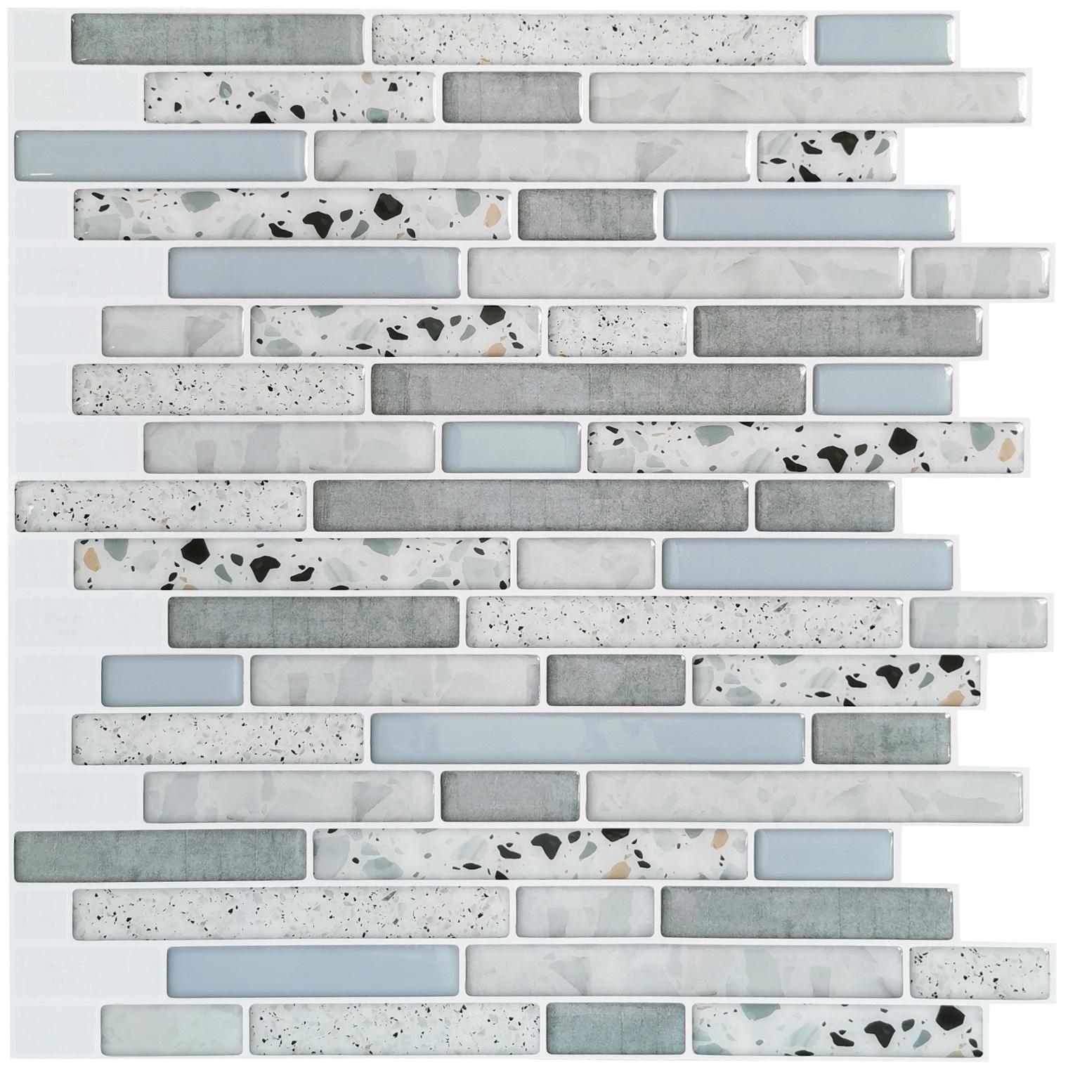 Art3d 10-Piece Peel and Stick Backsplash Tile 12