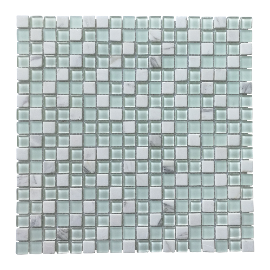 Art3d Glass Tile Stone Mosaic Decorative Wall Tile for Kitchen ...