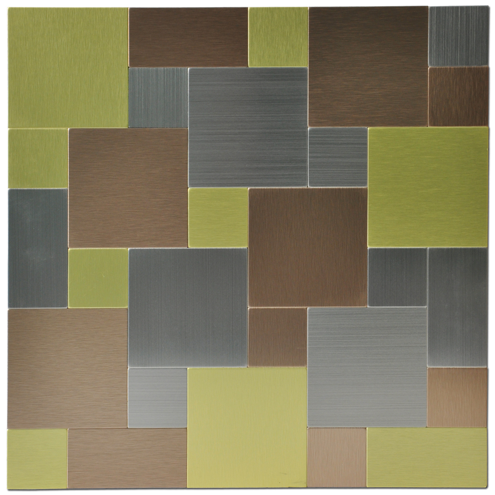 Metal Backsplash Tiles For Kitchen Or Bath In Box Sq Ft