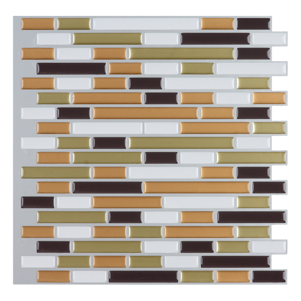 peel and stick wall tile kitchen and bathroom backsplashes
