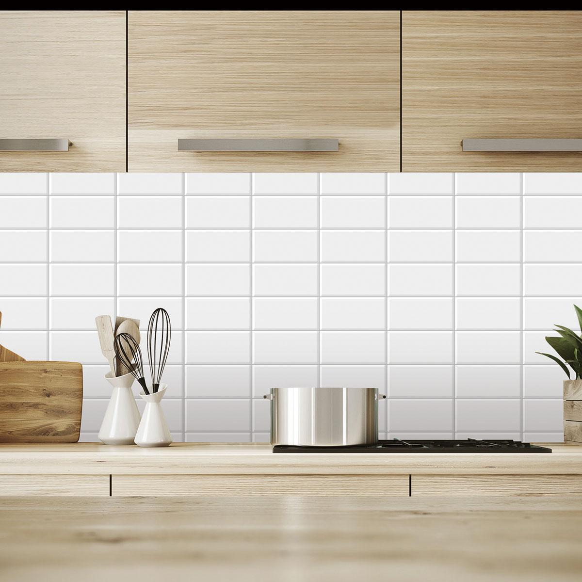 10 Sheets Peel And Stick Tile Backsplash For Kitchen In