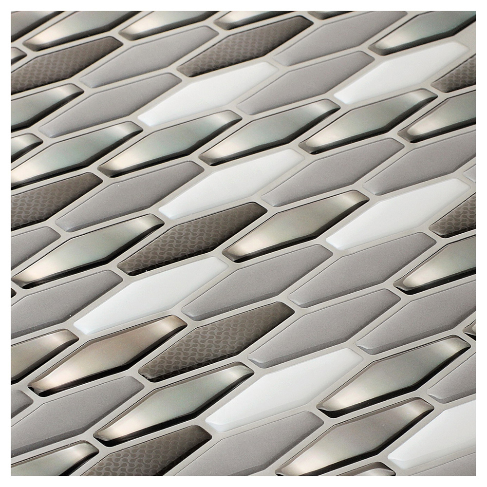 diamond wall tile peel and stick backsplash for kitchen 5 8 sq ft a17017 diamond wall tile peel and stick backsplash 6 tiles 5 8 sq ft