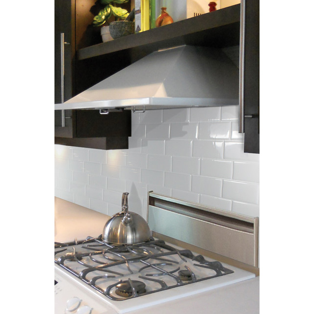 ... Backsplash Tile Peel And Stick White Brick Subway For Bathroom. Hot 44%
