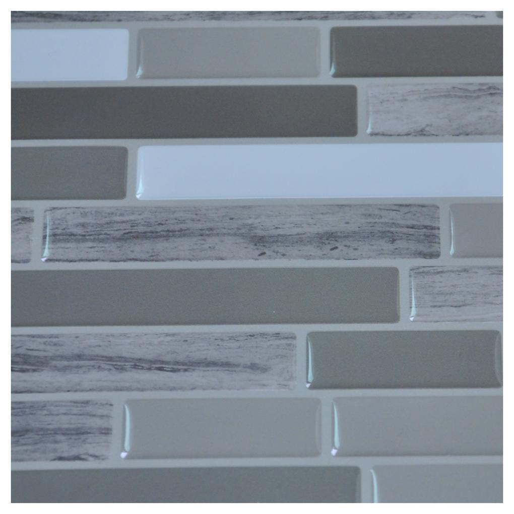 Stick on tiles for bathroom walls - Peel N Stick Tile Backsplash Bathroom Wall Tiles