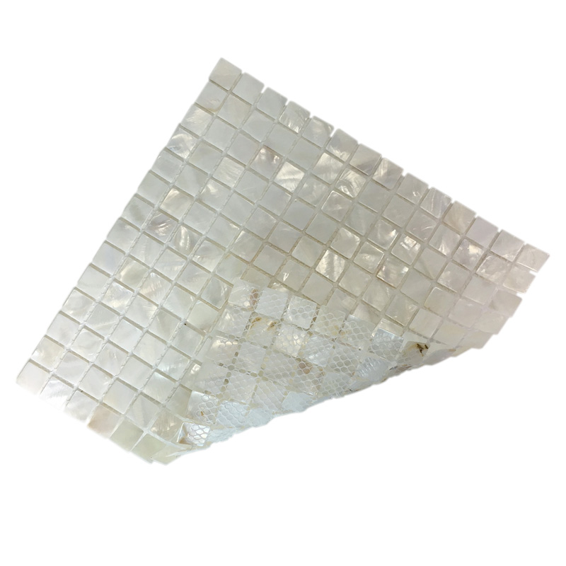 A18010 Oyster Mother Of Pearl Tile For Kitchen Backsplash 12 X12 White