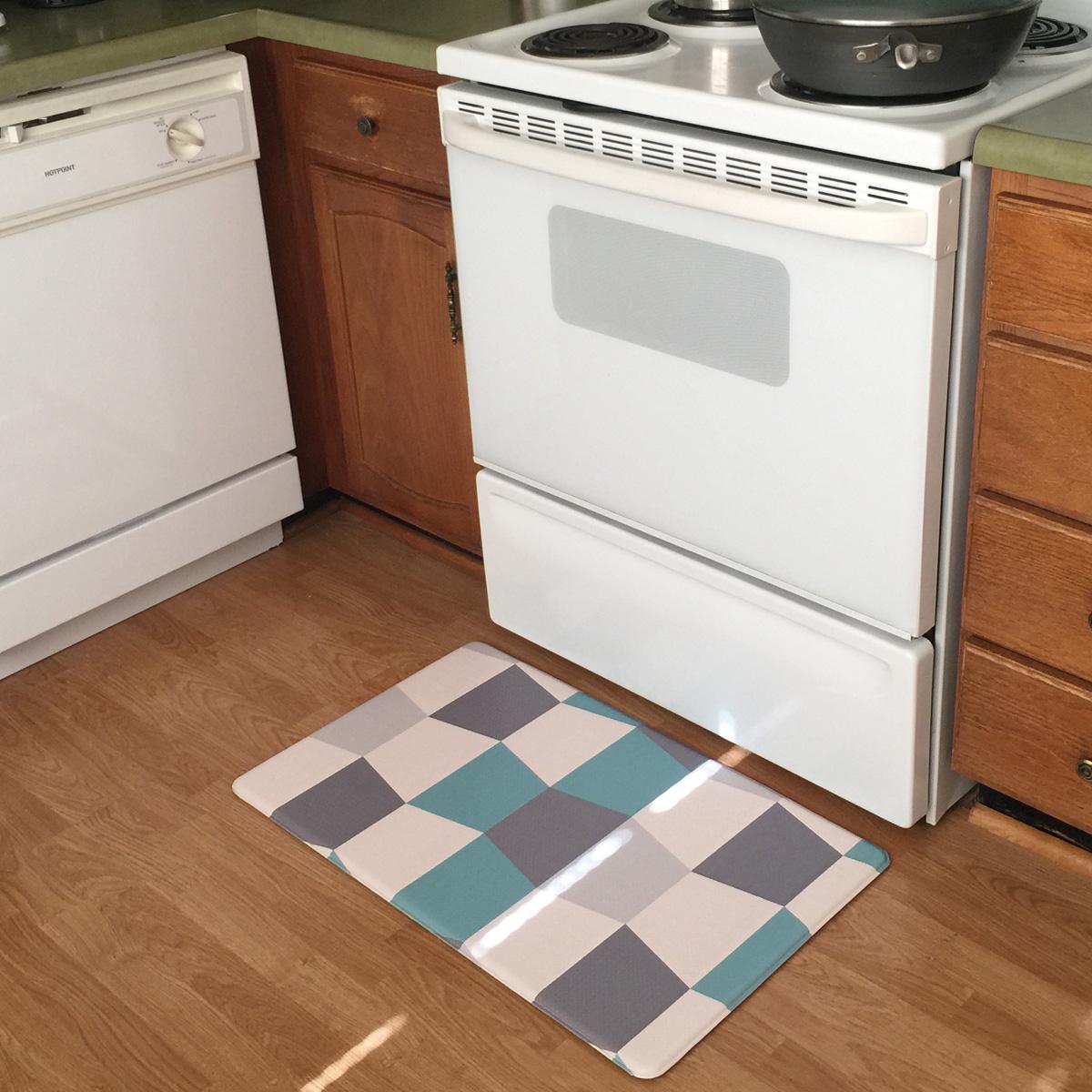 Anti Slip Anti Fatigue Memory Form Kitchen Comfort Mat 18 X 30