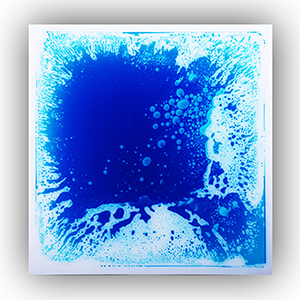 A11003 - Creative Fluid Dance Floor Liquid Fusion Floor Tile 1 Piece 50cmx50cm