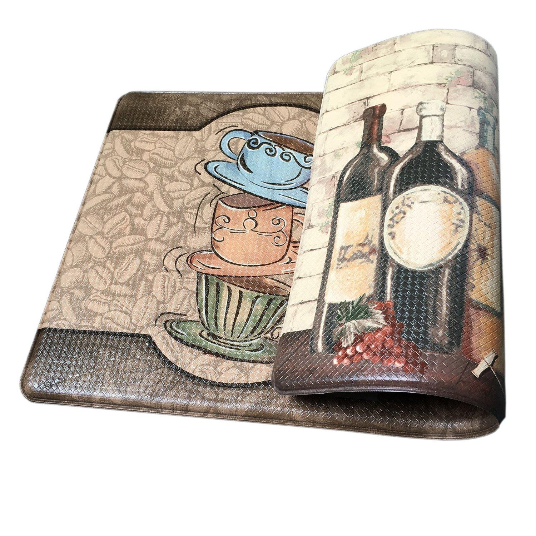 Anti-Slip Anti-Fatigue Memory Form Kitchen Comfort Mat, 18