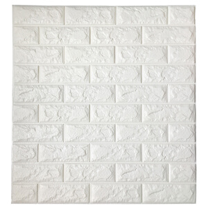 A06003 Peel & Stick Wallpaper Brick Design 8 Sheets 47 Sq.Ft