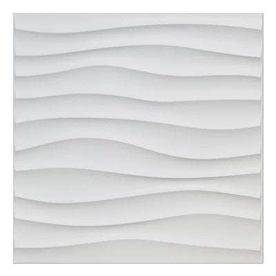 A10040 - 3D Wavy Panels for Interior Wall Decor 12 PVC Tiles 32 SF
