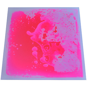 A11302 - 12''x12'' Pink Liquid Floor Tile Home Decor Tiles for Bar Nightclub KTV Decoration