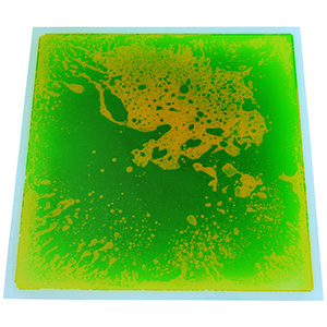 A11304 - Colorful Liquid Floor Tile 12''x12'' Green Home Decor Tiles for Bar Nightclub KTV Decoration 30cm Tiles