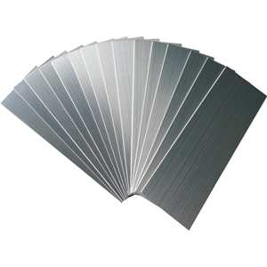 Metal Peel & Stick Tiles Pack of 30, Stainless Steel Backsplash 4