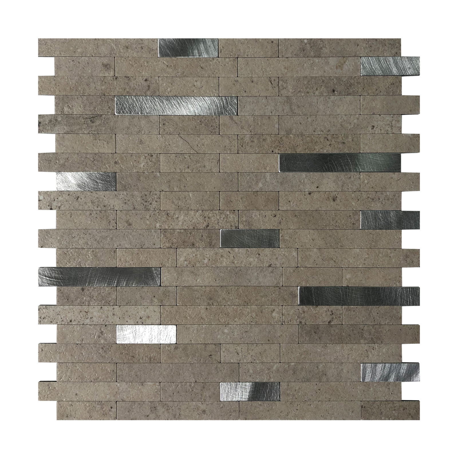 Art3d Peel and Stick Backsplash Tile for Kitchen, Faux Stone Backsplash Tiles(5 Tiles)