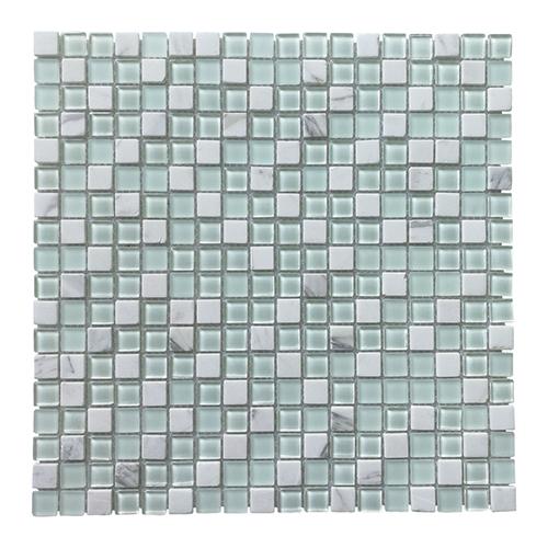Art3d Glass Tile Stone Mosaic Decorative Wall Tile for Kitchen Backsplash (4 Pack)