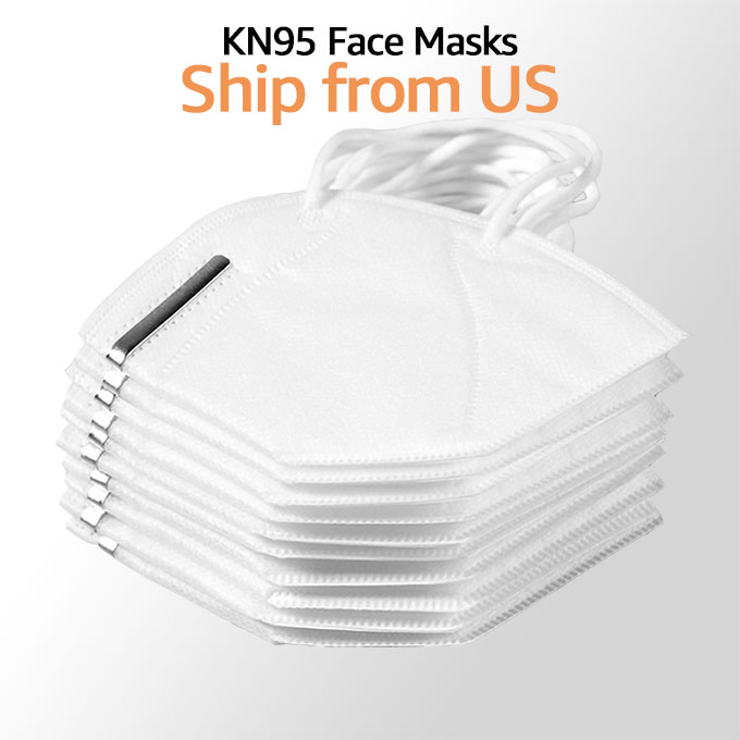 [20 PCS] KN95 Face Mask for Respiratory Protection