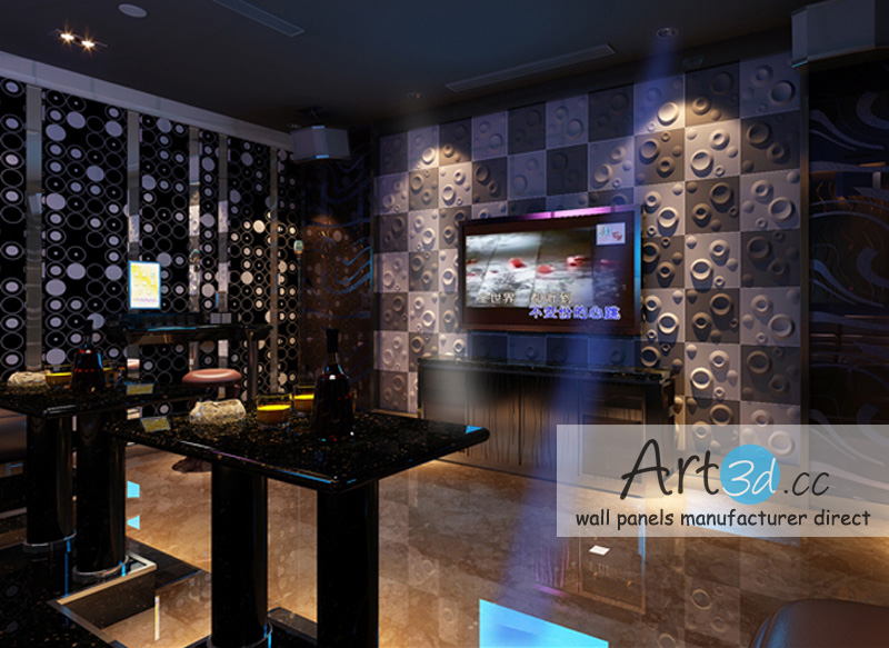 Night Club Wall Design Ideas