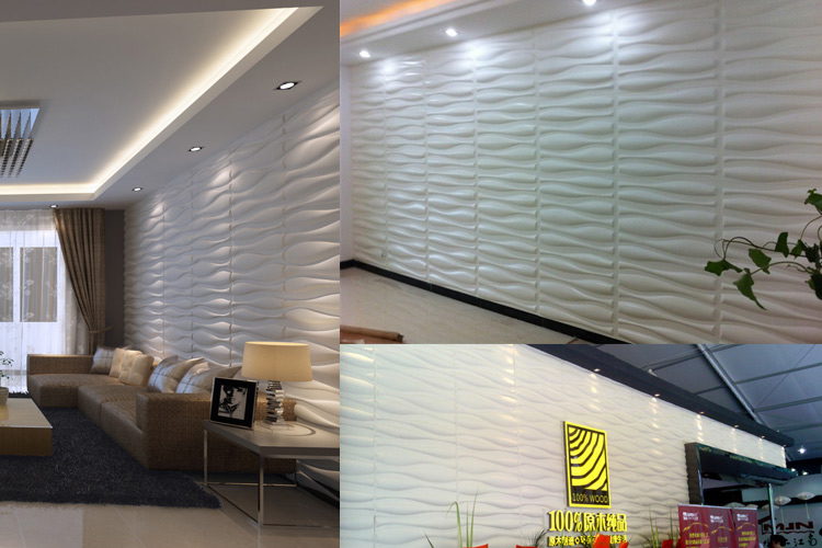 3D Surface PVC Cladding For Home and Business