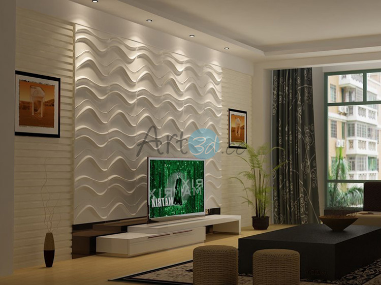 3D Textured Wall Panels for Interior Wall Decor 32 sq.ft
