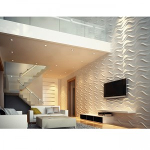 A10003 - 3D Textured Wall Panels for Interior Room Wall Decor 12 Tiles 32.29 sq.ft