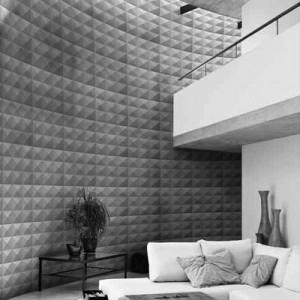 A10028 - 3D Laminated PVC Panel 1 Box 3 m²/32.29 sq.ft