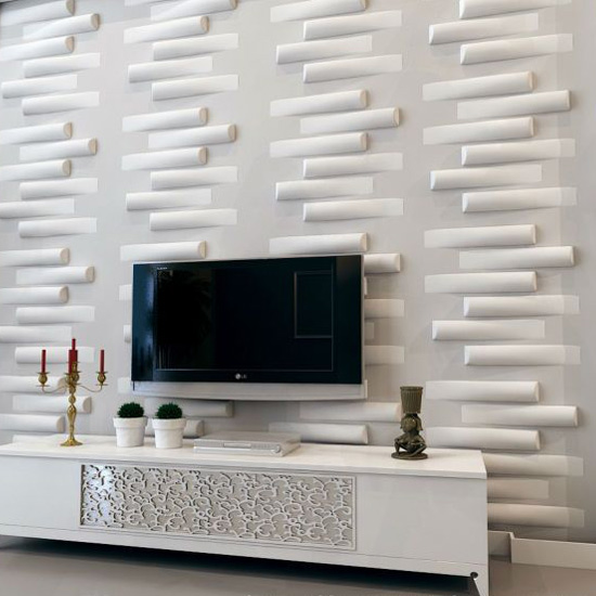 3d pvc wall d cor textured wall panels 1 box for 3d wall decoration panel