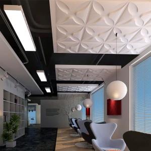 A10014 - 3D Textured Wall Cladding 12 Panels 3 m²