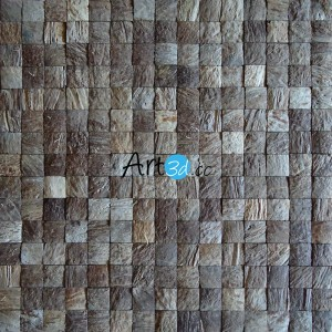 A14005 - Coconut Wall Covering 11 Panels 10.66 Sq.Ft