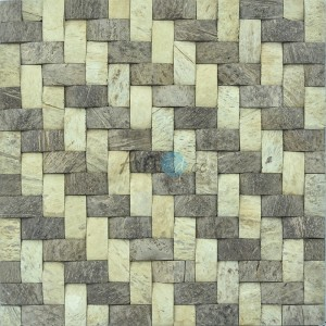 A14017 - Coconut Wall Tile 11 Panels 10.66 Sq.Ft