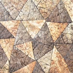 A14012 - Decorative Coconut Shell Tile 11 Panels