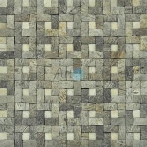 A14009 - Decorative Coconut Tile 11 Panels 10.66 Sq.Ft