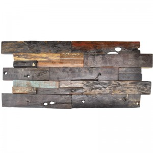 A15103 - Decorative Recycled Wood Panel 2m²