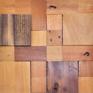 A15007 - Decorative Recycled Wood Tile 10.7 S.F