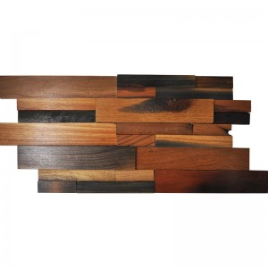 A15101 - Decorative Wood Wall Art 1 Box 2 m²