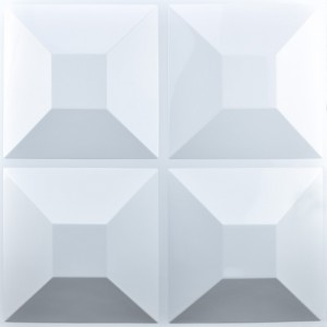 A10018 - Embossed 3D Wall Tile Home Decor Material 32.29 sq.ft
