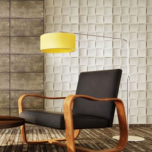 A10004 - Embossed 3D Wall Design 12 Panels 32.29 sq.ft