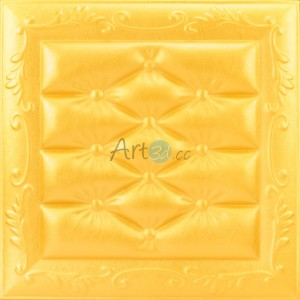 A13035 - Faux Leather Ceiling Panel 20.67 sq.ft