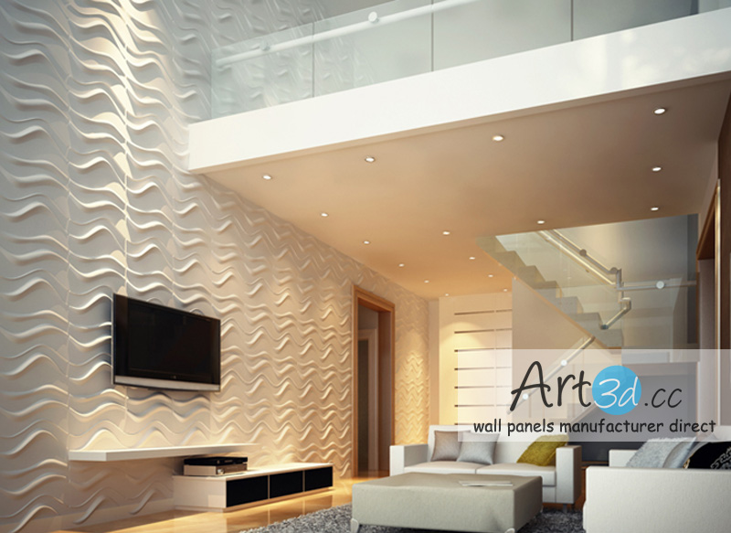 Interior Wall Design Ideas   Living Room 3D Wall Panels. Portfolio