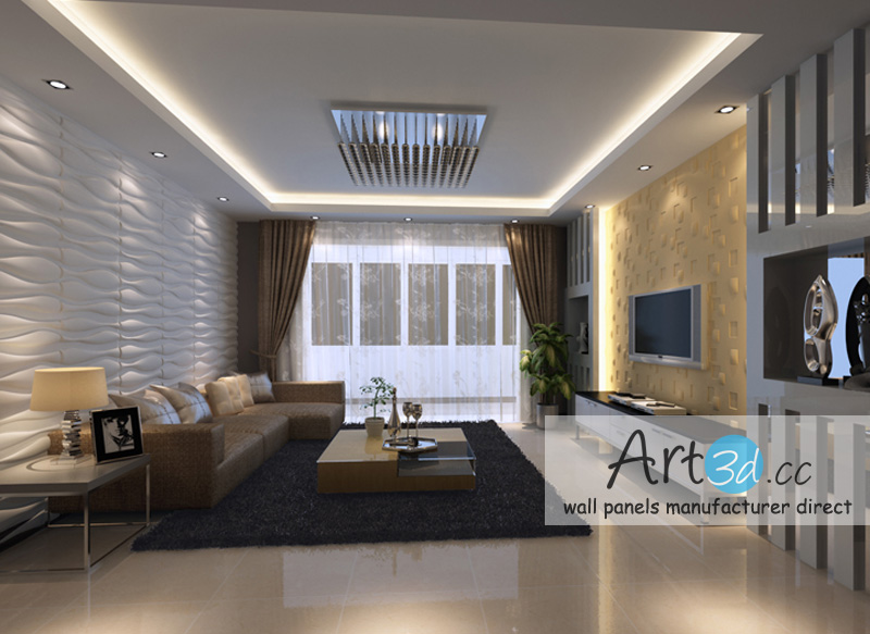 Living room design ideas living room wall design for Living room designs 3d