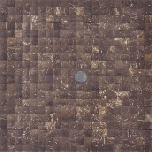A14011 - Reclaimed Coconut Tile 11 Panels 10.66 Sq.Ft