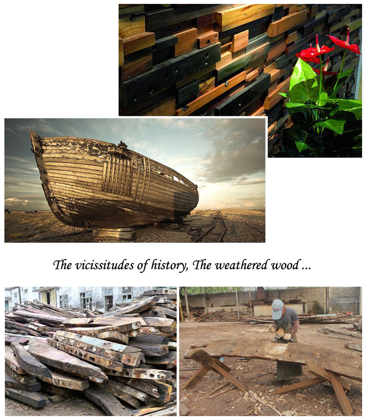reclaimed wood salvaged