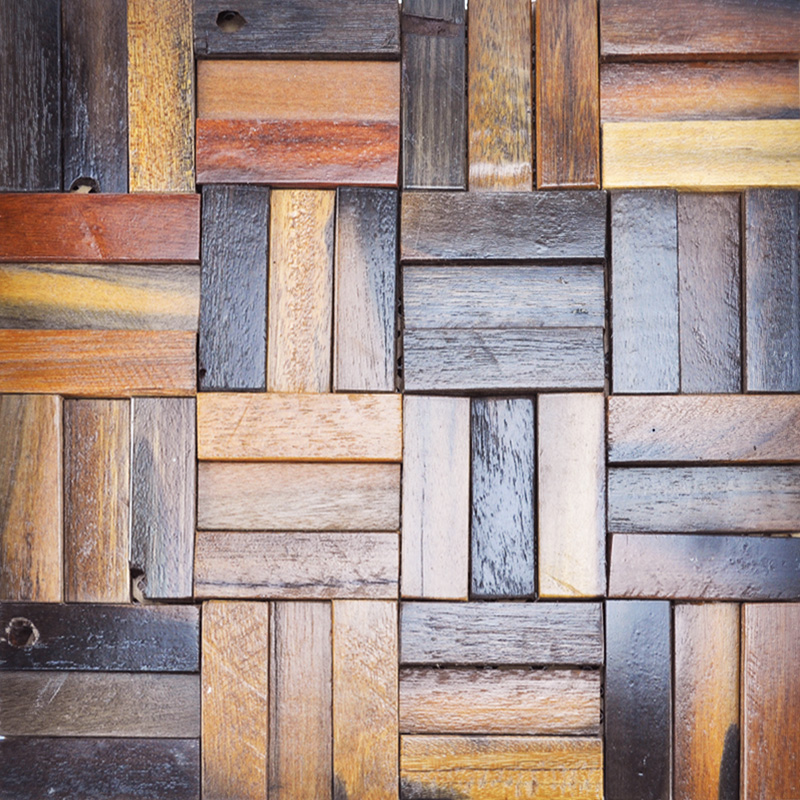 Reclaimed Wood Wall Cladding For