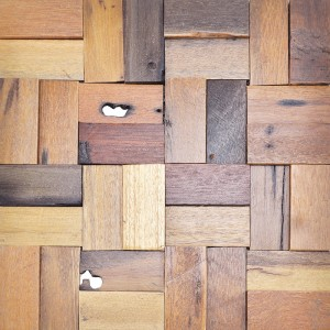 A15009 - Reclaimed Wooden Wall Design Tile 10.66 Sq.Ft