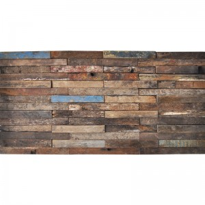 A15102 - Recycled Wood 3D Design 1 Box 2 m²