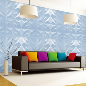 A21013 - 3D Plant Fiber Wall Board 1 Box 3 m²
